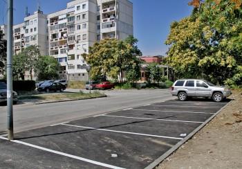 """Нов паркинг в район """"Тракия"""""""