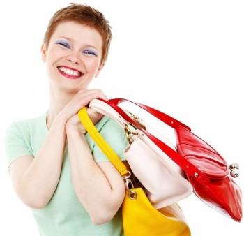 Радостта на жената се побира в нейната чанта